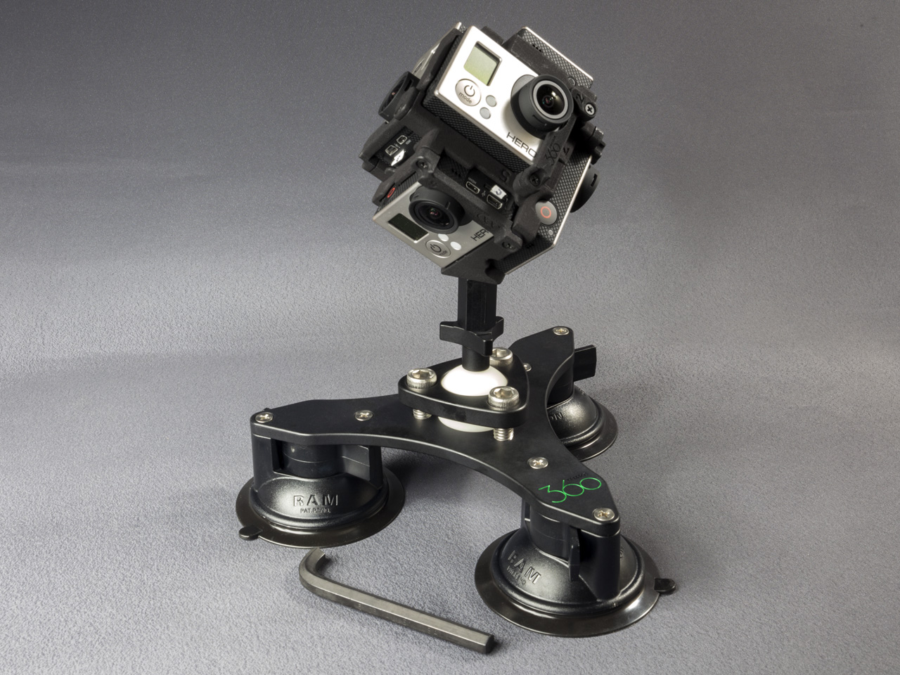 Tri-Base Suction Cup Mount V2