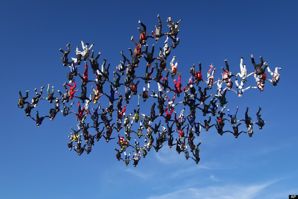 World Record Skydive