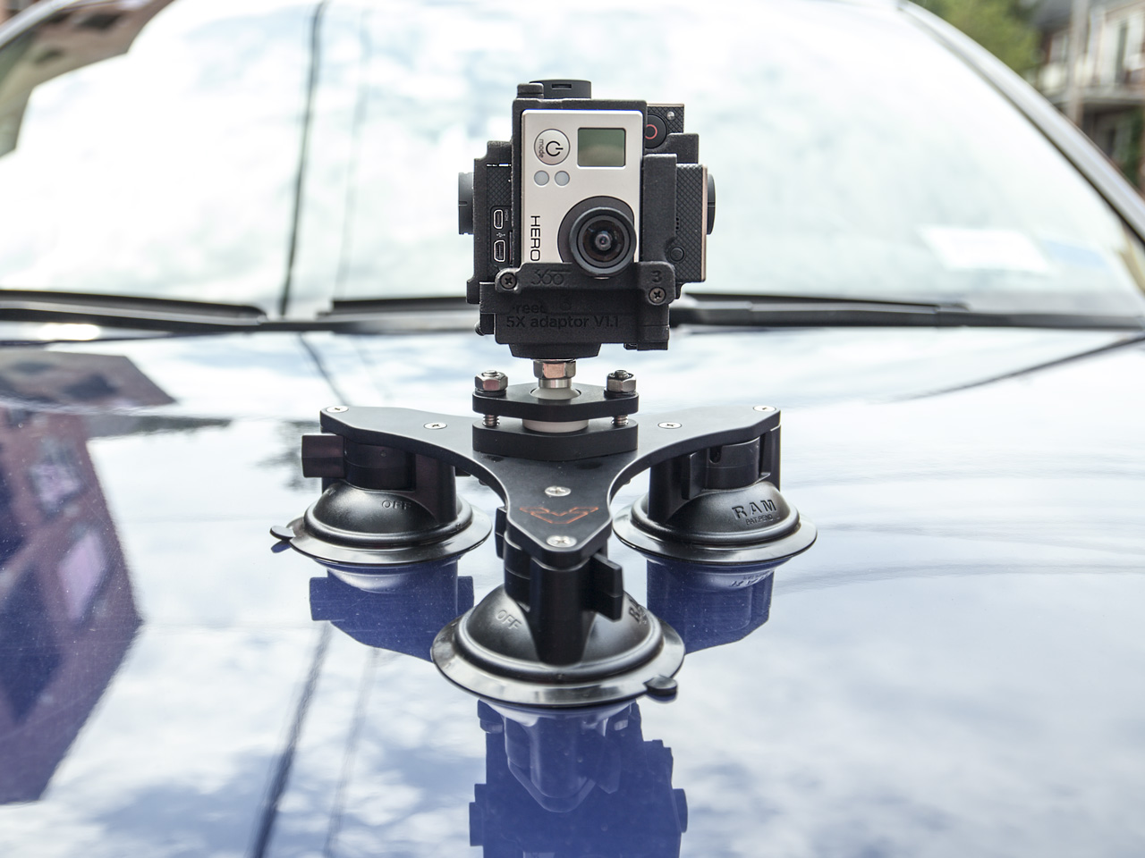 Tribase Suction Cup Mount