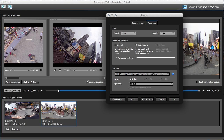 Kolor Autopano Video Tutorial - Freedom360