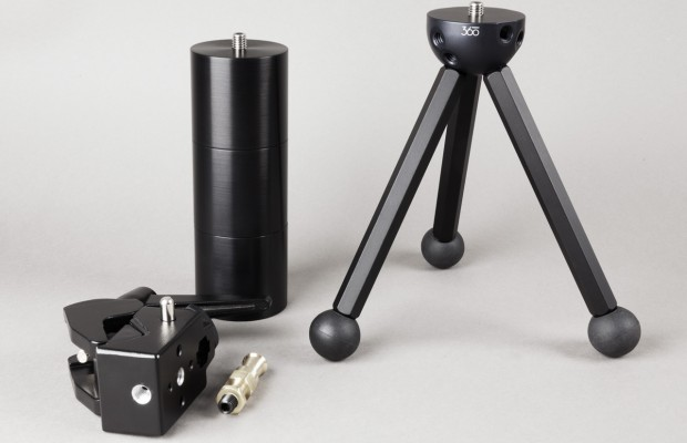 F360 BasicBall, Super Clamp and a set of stackable counter weights