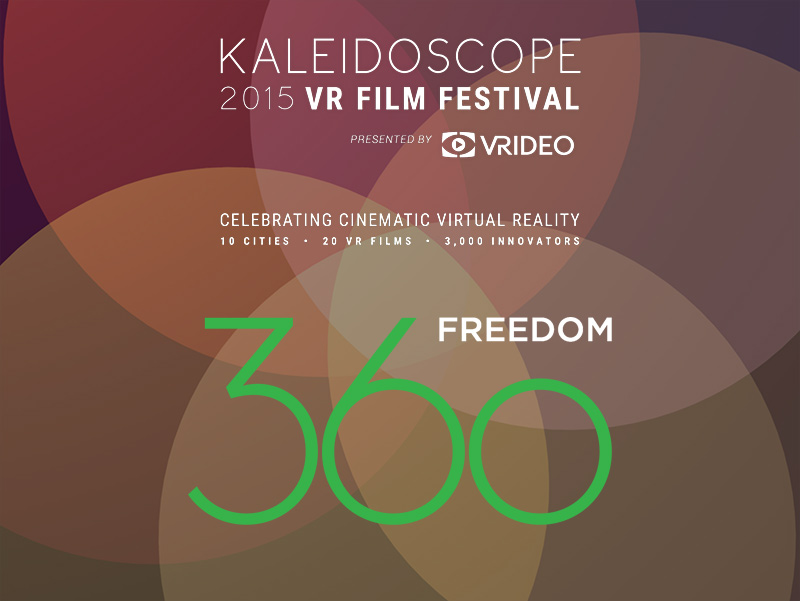 Freedom360 | Koncept VR joins Kaleidoscope VR Film Festival as a Bronze Sponsor