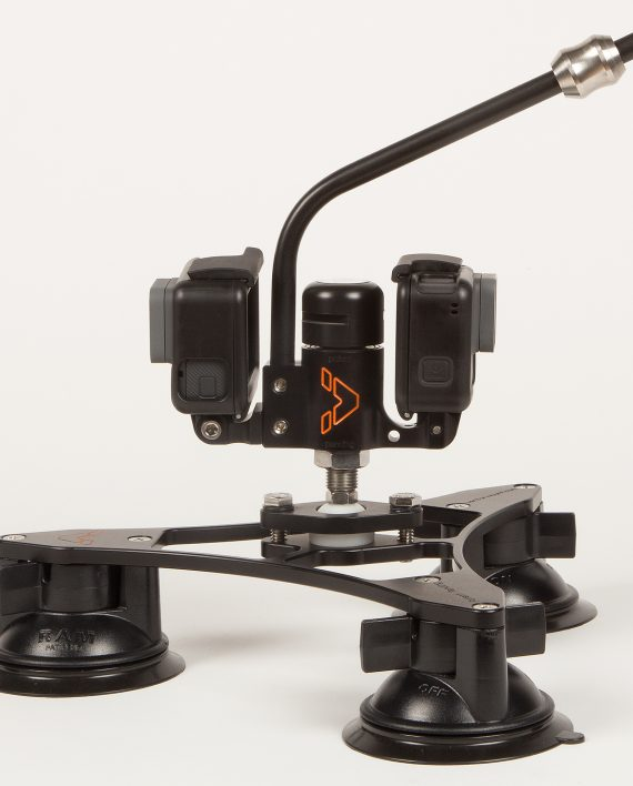 VectorMount Pivot Pro Kit with 2x Hero5